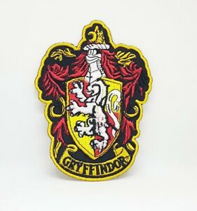 Harry Potter GRYFFINDOR Crest Iron Sew on Embroidered Patch