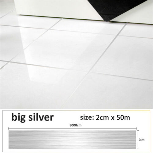 Self Adhesive Kitchen Anti-moisture Waterproof Floor Tile Tape Wall Sticker