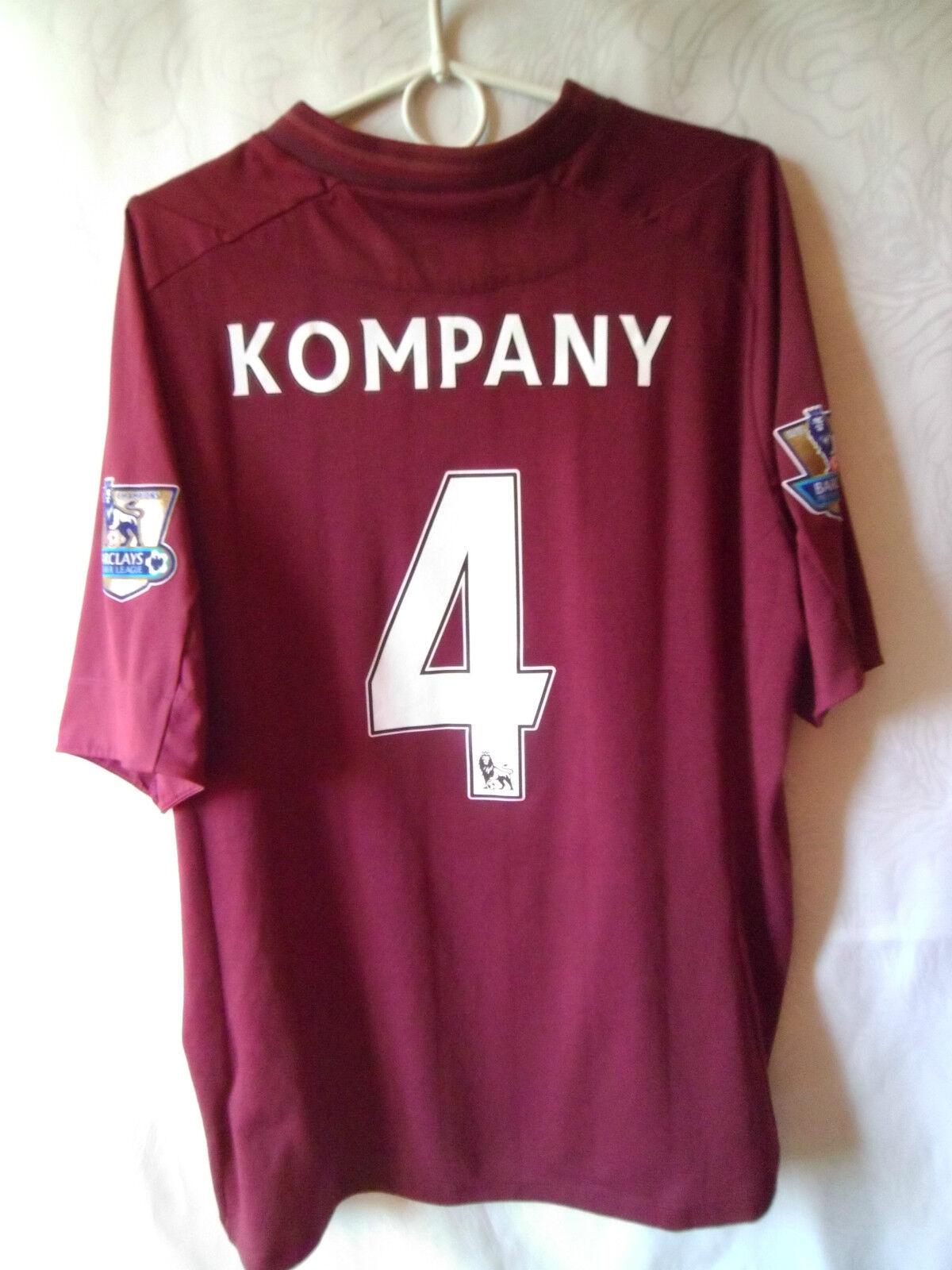 RARE    KOMPANY     2012-13 Manchester City Away Shirt