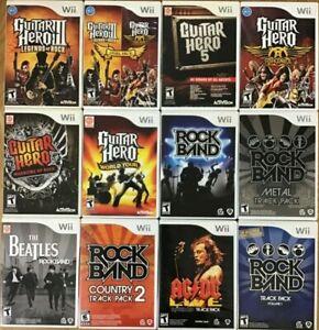 Guitar Hero / Rock Band (Nintendo Wii) Wii Tested