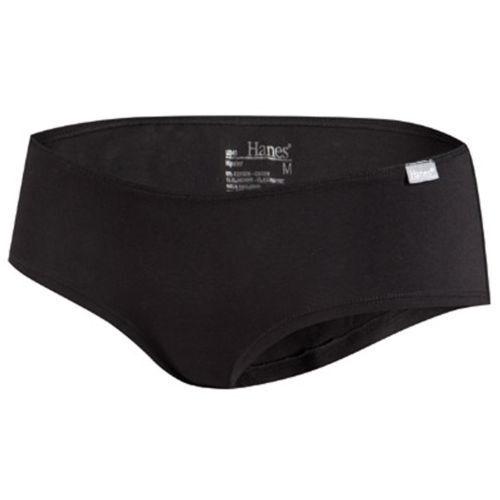 Black HANES Comfort Soft Hipster panties,underwear,knickers,briefs size 14 XL
