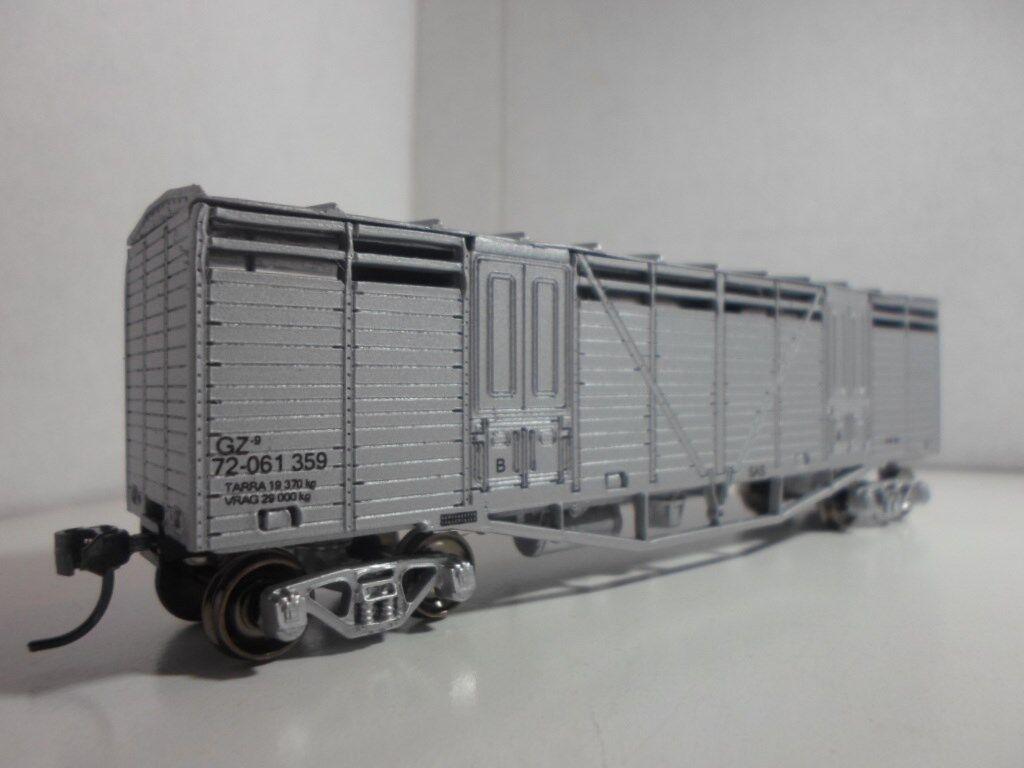 South African Railways   SAR Single Deck Cattle voiturerier