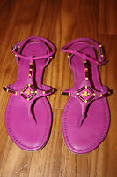 Cole Hann Larissa Beet Color Sandals Size 10