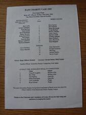 23/07/1993 Bass Charity Vase Semi-Final: Notts County v Derby County [At Gresley