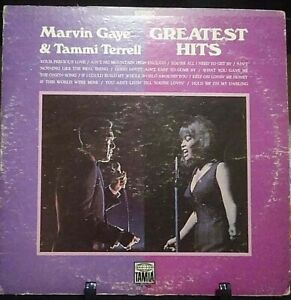 MARVIN GAYE & TAMMI TERRELL Greatest Hits Album Released 1970 Vinyl/Record USA