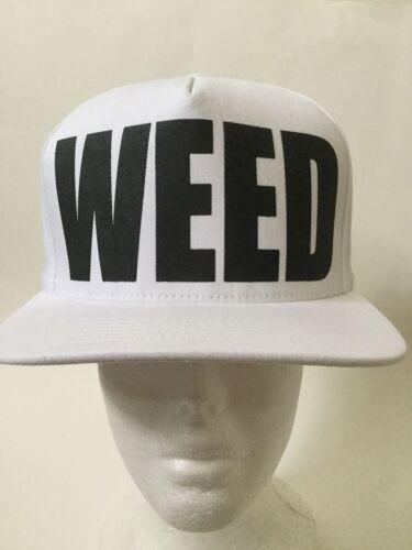 TISA WEED Snap back White