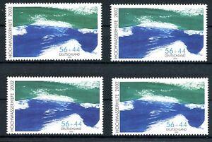 Bund-MiNr-2278-AI-AII-CI-CII-postfrisch-MNH-Hochwasserhilfe-2002-F452