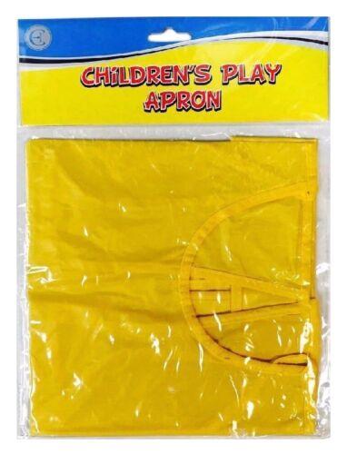 Delantal de juego para niños artes creativas niños de 3 a 9 años FREEPOST! pintura artesanía