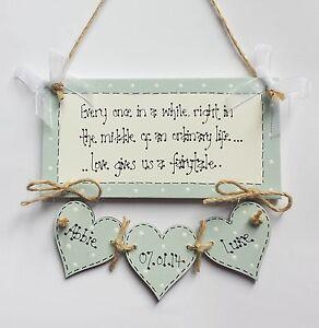 ... Chic-Personalised-Wedding-Anniversary-Couple-Plaque-Sign-Gift-Keepsake