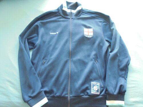 Veste de survêtement 1996 Veste football Angleterre Monde Coupe Adidas de du marine y08nOwmPvN