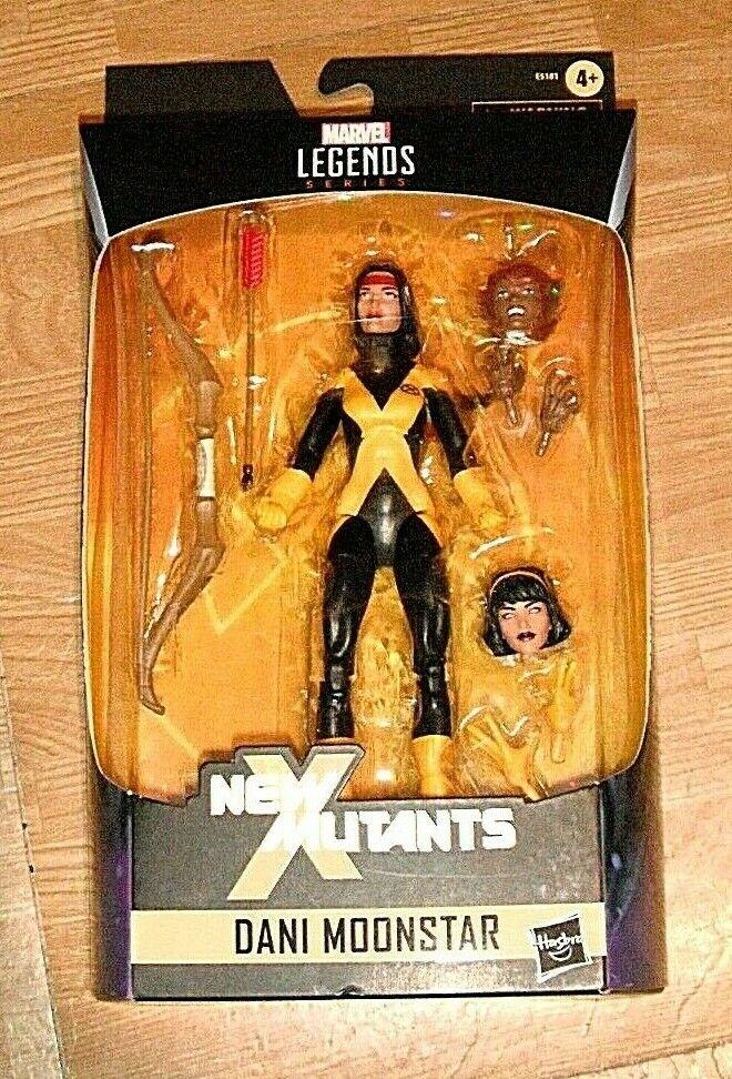 Dani Moonestrella Marvel Legends Xessi Exclusive azione cifra Hasbro nuovo X Mutants