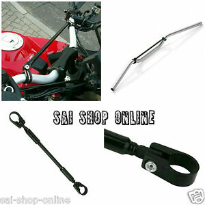 "7/8"" Handlebar Cross Bar Steering Strength Lever Bar Pole Royal Enfield .."