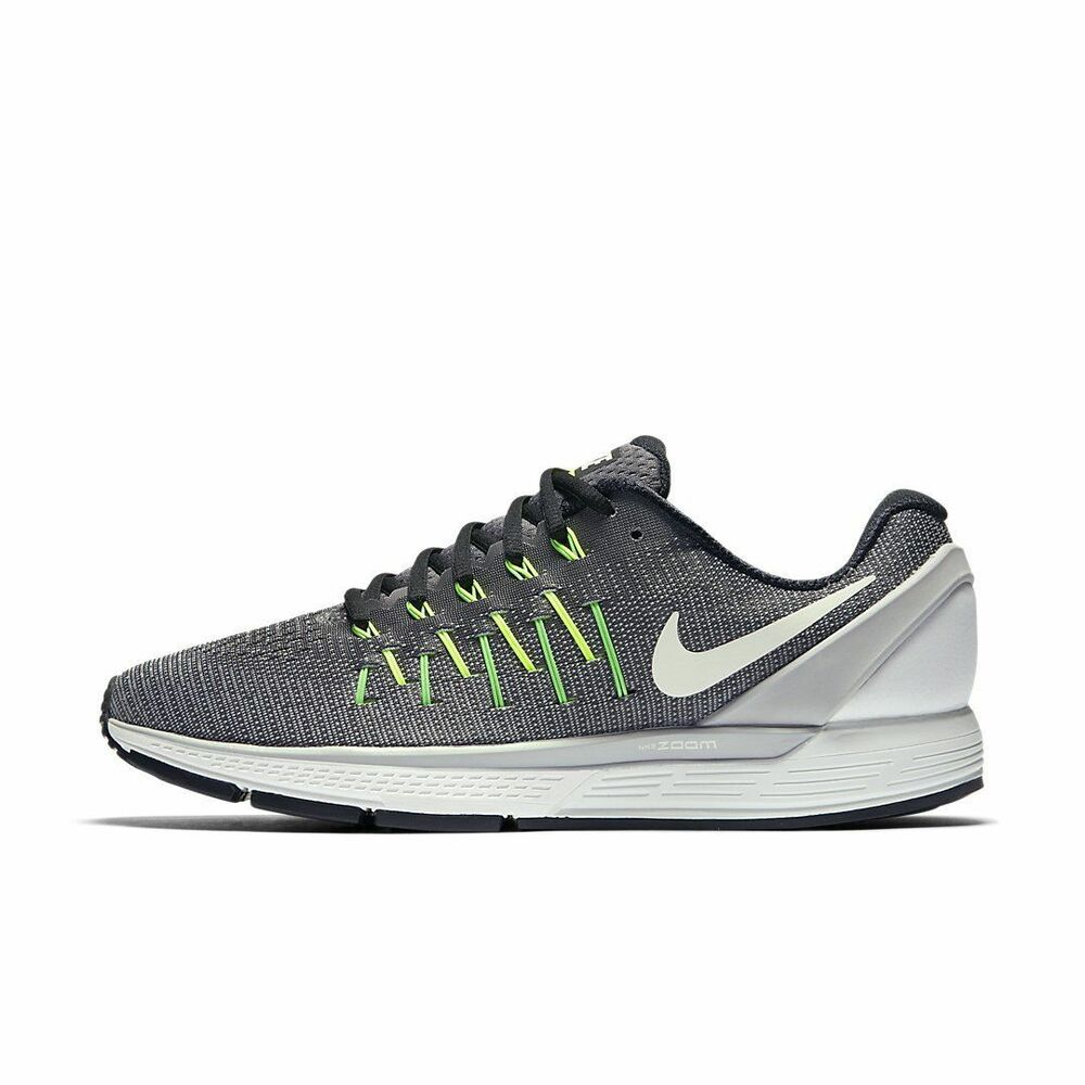 HOMME Nike Air Zoom Odyssey 2 Chaussures Taille 15 Gris Blanc Noir 844545 007