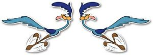 Road-Runner-Looney-Tunes-Cartoon-Sticker-Decal-Set-Laptop-Wall-Car-Phone-Racing