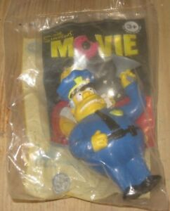 Chief Wiggum 2007 The Simpsons Movie Burger King Kids Meal Toy
