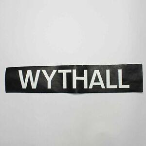 Wythall-bus-blind-vintage-screen-printed-Yardley-Wood-destination