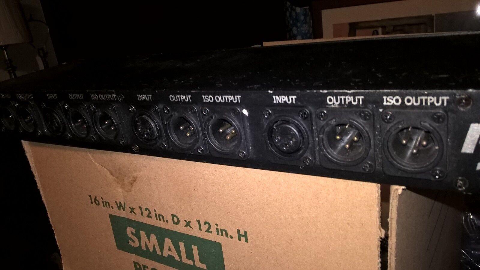 Rapco 400 Audio Quad Iso XLR Splitter Box