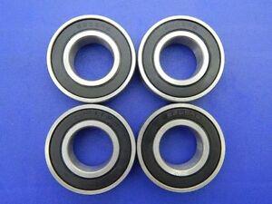 4-pieces-6205-2RS-25x52x15-mm-Roulement-a-bille-Roulements-a-billes