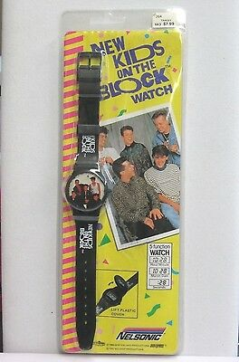 Temperate 1990 Vintage Nelsonic New Kids On The Block Original Watch Sealed Great Deal Home & Garden