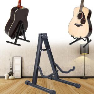 zusammenklappbarer E-//Akustik-Gitarrenständer Universeller