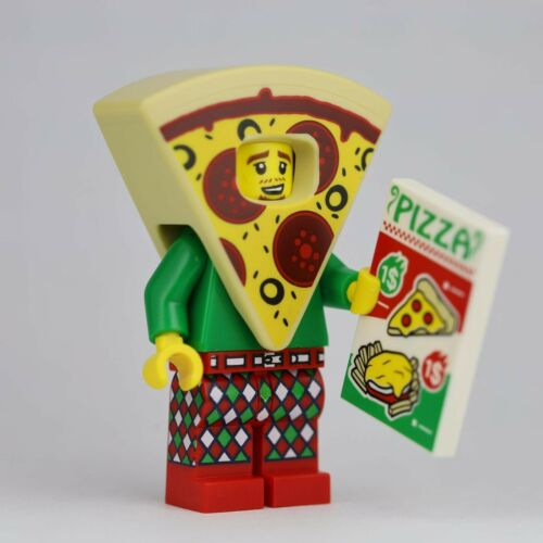 BRAND NEW LEGO MINIFIGURE SERIES 19 71025 Pizza Costume Guy