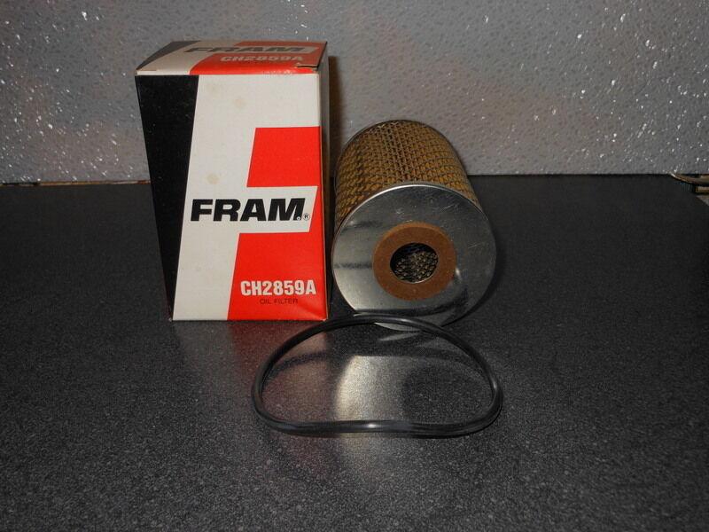 1986-1991 Engine Oil Filter Fram CH 2859B MERCEDES-BENZ 560SEL
