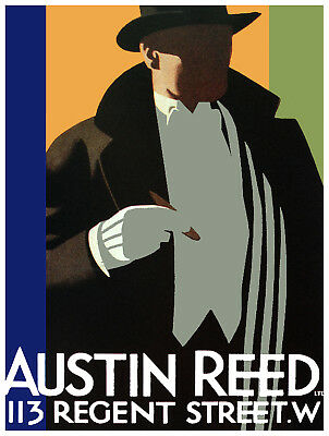 Austin Reed 113 Regent St Interior Design Home Decor 06 Poster Stylish Graphic Home Garden Home Decor