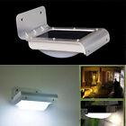 20/24 LED Solar Power Motion Sensor Wall Light Outdoor Garden Waterproof Lamp