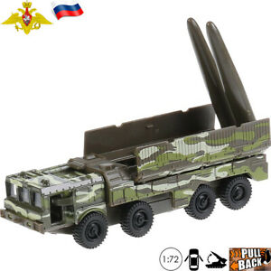 Russian-Ballistic-Missile-Launcher-Iskander-SS-26-Stone-Diecast-Model-Car-1-72