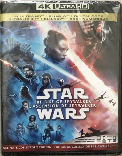Star Wars: The Rise of Skywalker 4K UHD Ultra HD + Blu-ray + Digital (2020) NEW