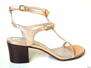 new-MARC-JACOBS-copper-leather-TURNLOCK-logo-T-strap-GLADIATOR-sandals-shoes