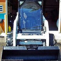 Bobcat Front Door,vinyl Door Only,fits Series 751,753,763,773,863,873 Dooronly