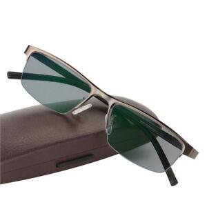Transition-Photochromic-Reading-Glasses-Myopia-Hyperopia-Rx-Custom-Metal-Frame