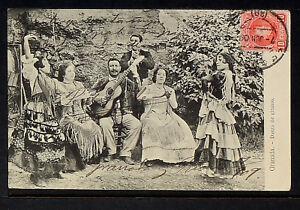 3066-GRANADA-Danza-de-Gitanos-Enviada-a-Mexico-en-1909