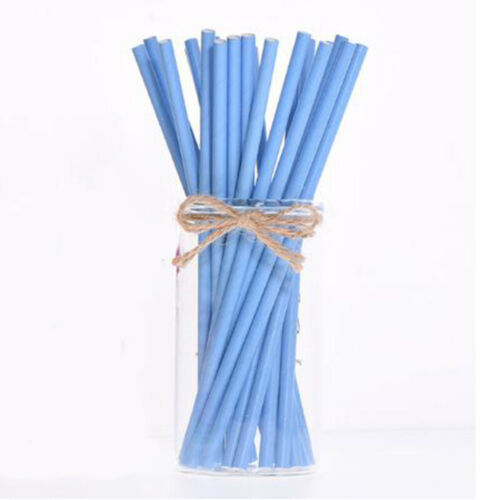 25pcs Disposable Paper Straws Mixed Drinking Straws Home Birthday Party Supplies