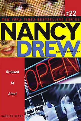 Keene, Carolyn, Dressed to Steal (Nancy Drew), Very Good Book