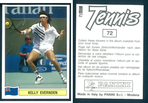 Kelly-Evernden-NZE-Tennis-1992-Edizioni-Panini-MINT-n-72