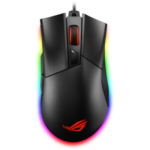 9a6ea965298 New ASUS ROG Gladius II Aura Sync USB Wired Game Mouse -free ship& ...