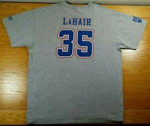 BRYAN-LaHAIR-Iowa-Cubs-Chicago-Cubs-AAA-Minor-League-Team-SGA-T-Shirt-Men-039-s-XL