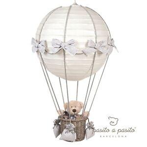 Lampadario Mongolfiera Pasito A Pasito.Details About Chandelier Balloon Pasito A Pasito Beige Show Original Title