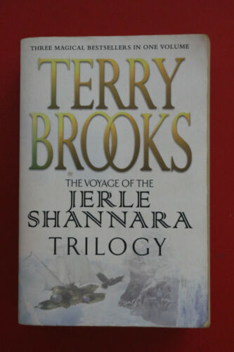 1 of 1 - THE JERLE SHANNARA TRILOGY by Terry Brooks - 3 BOOKS 1 VOLUME (Paperback, 2004)