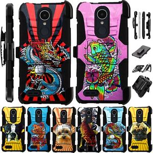 Details about For Alcatel TCL LX A502DL Holster Case Armor Kickstand Phone  Cover LuxGuard C3