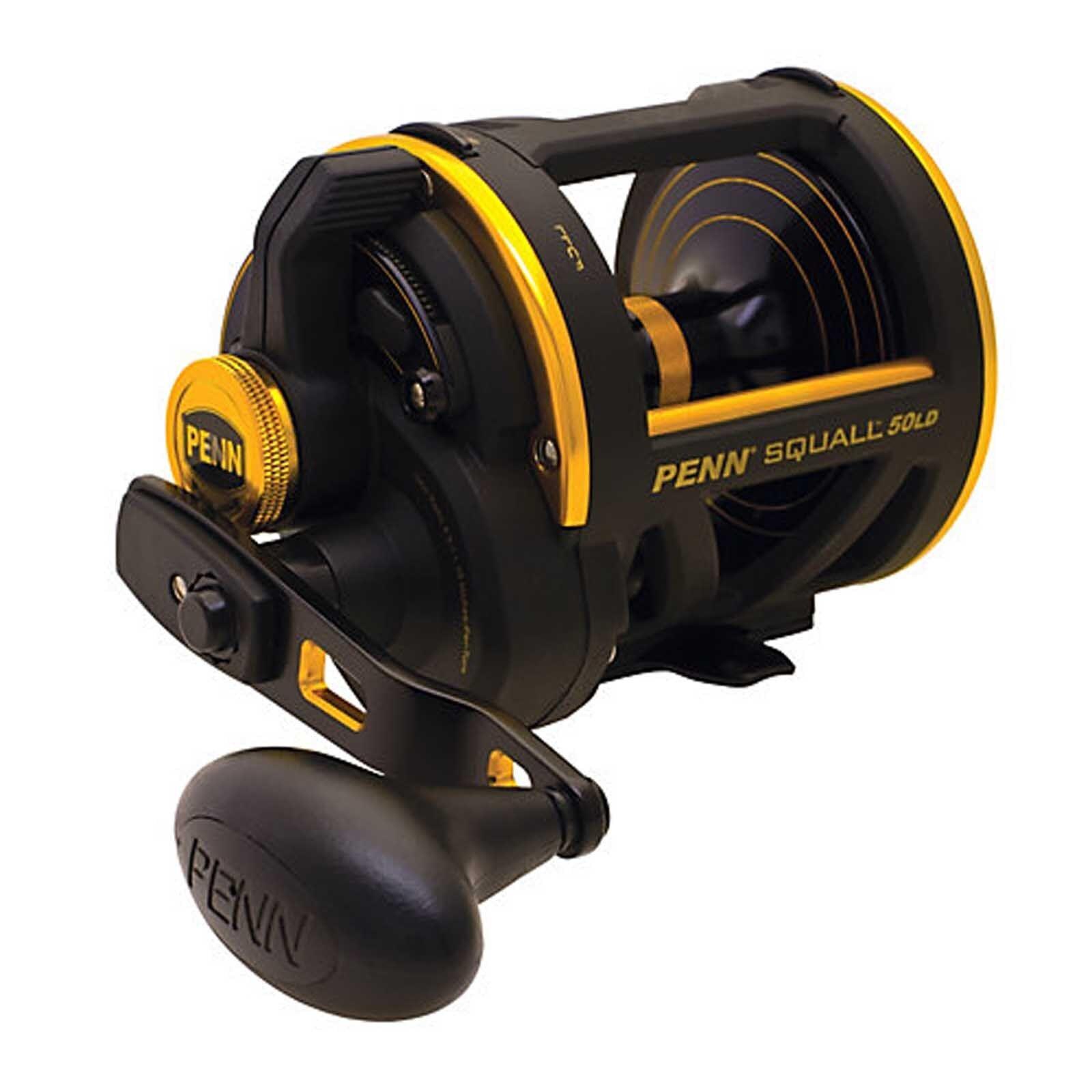Penn Squall LH & RH Lever Drag LD Multiplier Multiplier Multiplier Trolling Sea Fishing Reel 1c9b2d