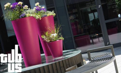Blumentopf Blumenkübel Vase COUBI DTUS Mit Pflanzbehälter Best Preis Glanzlos!