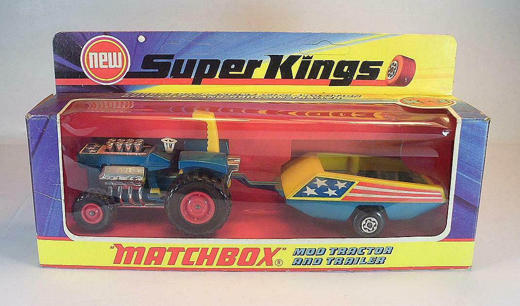 MATCHscatola Super res k3 MOD Tractor & trailer come nuovo OVP  651