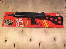 Esquire Nichols Toy Uzi Gun New On Package Board VTG.