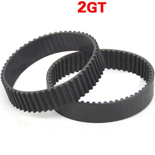376-406mm GT2 Zahnriemen Geschlossen Riemen 3D Drucker CNC RepRap 2GT Meterware