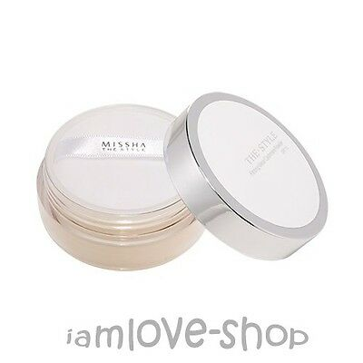 [Missha] The Style Fitting Wear Cashmere Powder SPF15 #2 Natural Beige 20g