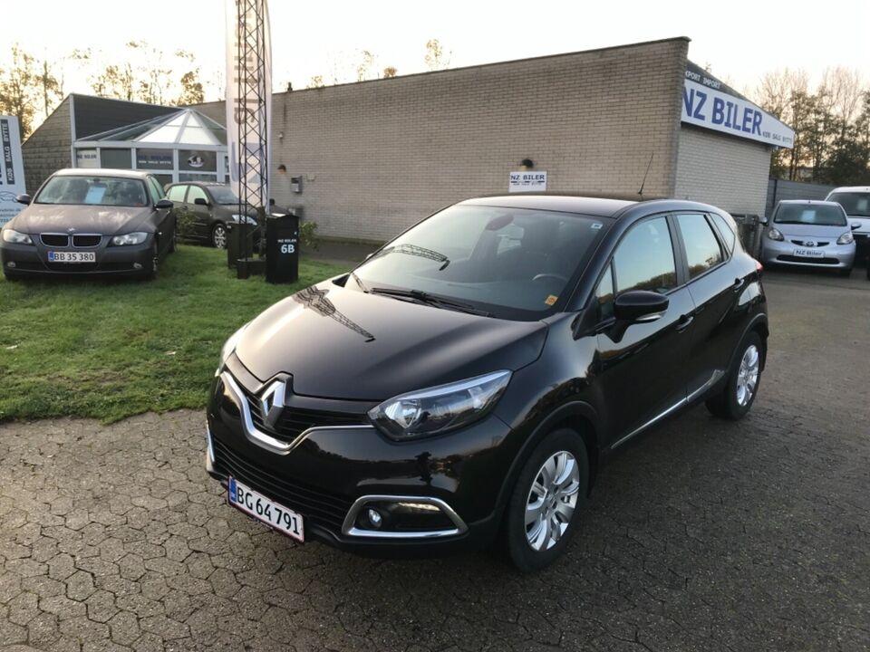 Renault Captur 0,9 TCe 90 Dynamique Benzin modelår 2014 km