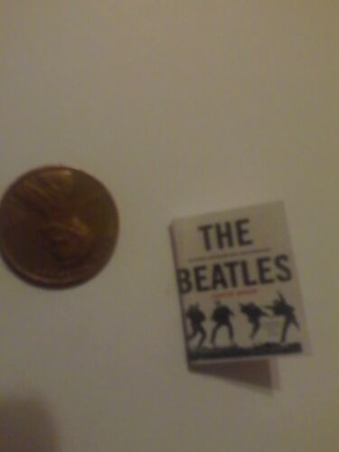 The Beatles dollhouse miniature book